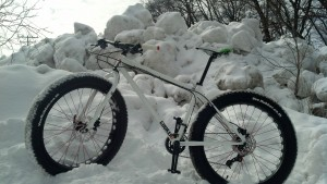 On my Fat Bike Adventure