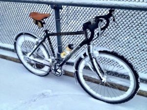 Steve's Winterized Bike